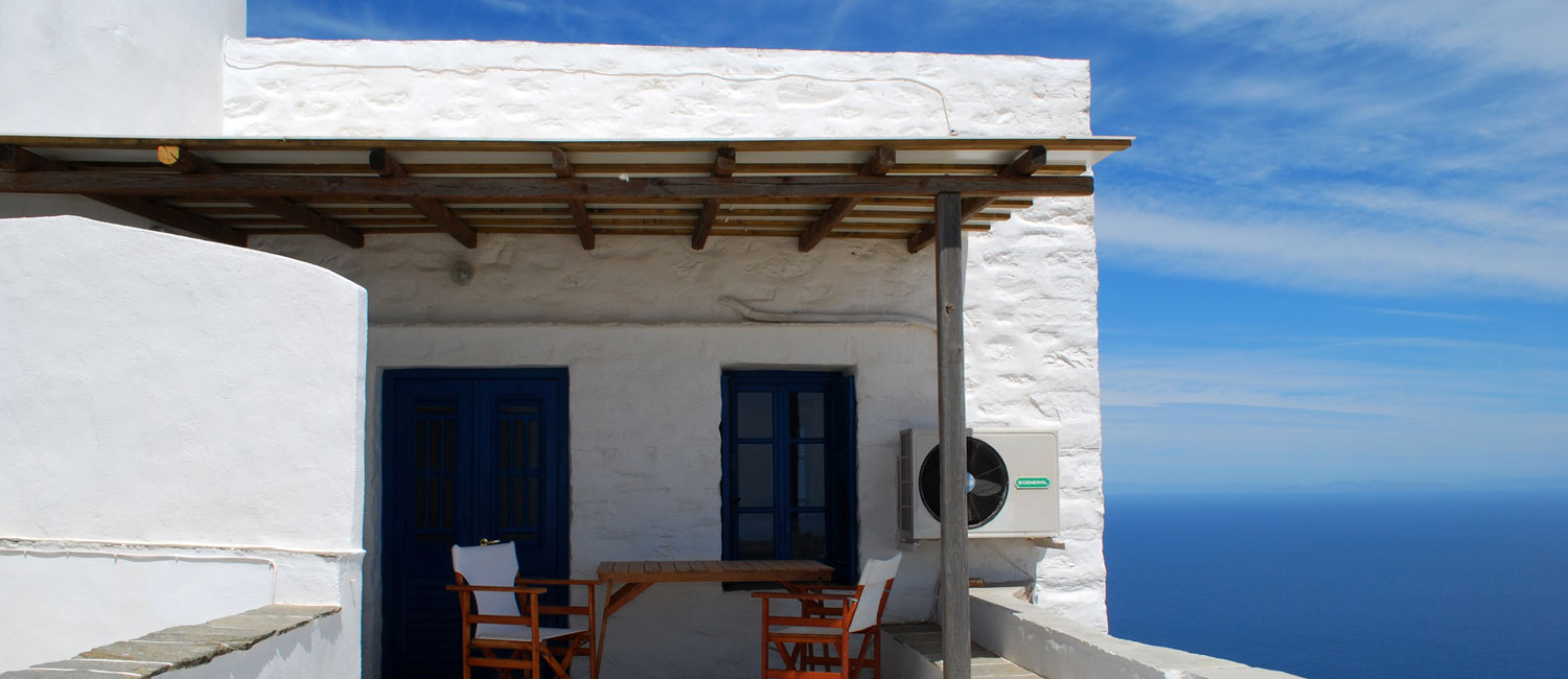 Windmill Villas in Sifnos - The apartments